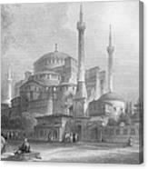 Constantinople: St. Sophia Canvas Print