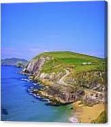 Coumeenoole Beach, Dingle Peninsula, Co Canvas Print