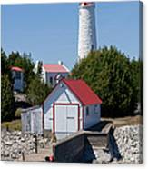 Cove Island Lighthouse Canvas Print