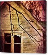 Creepy Abandoned House Canvas Print