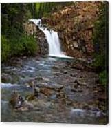 Crystal River Waterfall Canvas Print