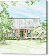 Custom House Rendering Sample Canvas Print