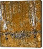 Detail Of Burnt Building Canvas Print