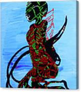 Dinka Bride - South Sudan Canvas Print