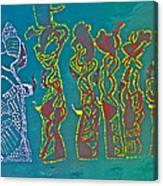 Dinka Wise Virgins Canvas Print