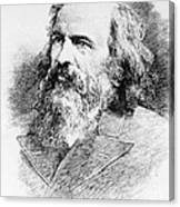 Dmitri Mendeleev, Russian Chemist Canvas Print