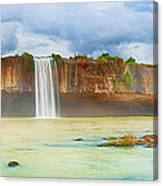 Dry Nur Waterfall Canvas Print
