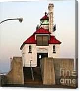 Duluth Mn Lighthouse Canvas Print