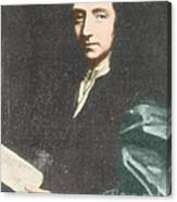Edmond Halley, English Polymath Canvas Print