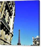 Eiffel Tower In Paris Canvas Print