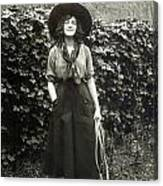 Elsie Janis (1889-1956) Canvas Print