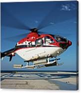 Eurocopter Ec135 Utility Helicopter Canvas Print