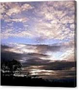 Evening Skies Canvas Print