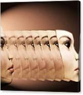 Face Transplant Canvas Print