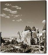 Fairy Chimney In Goreme Canvas Print