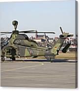 German Tiger Eurocopter At Fritzlar Canvas Print