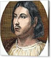 Giovanni Boccaccio Canvas Print