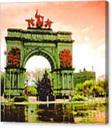 Grand Army Plaza Canvas Print