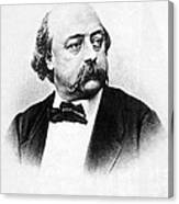 Gustave Flaubert (1821-1880) Canvas Print