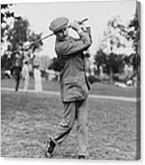 Harry Vardon (1870-1937) Canvas Print