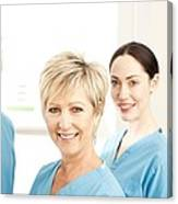 Hospital Staff Canvas Print