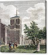 Independence Hall, 1799 Canvas Print