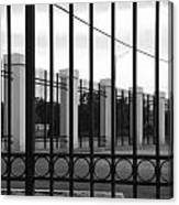 Iron And Pillars Canvas Print