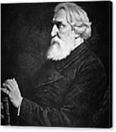 Ivan Turgenev (1818-1883) Canvas Print
