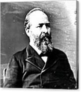 James A. Garfield, 20th American Canvas Print