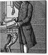 Jean Jacques Rousseau Canvas Print