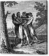 John Andre (1751-1780) Canvas Print