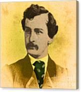 John Wilkes Booth, American Assassin Canvas Print