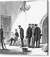 Johnson Impeachment Trial Canvas Print
