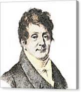Joseph Fourier, French Mathematician Canvas Print