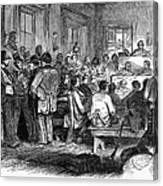 Kansas-nebraska Act, 1855 Canvas Print