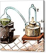 Lavoisiers Apparatus To Study Air Canvas Print