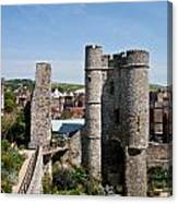 Lewes Castle Canvas Print