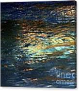 Light On Water Canvas Print