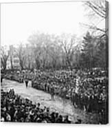 Lincolns Inauguration Canvas Print