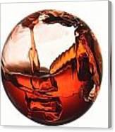 Liquid Sphere Canvas Print