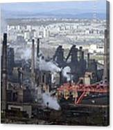 Magnitogorsk Iron And Steel Works Canvas Print