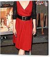 Meryl Streep At Arrivals For Julie & Canvas Print
