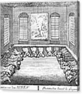 Moravians, 1757 Canvas Print
