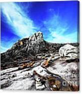 Mount Kinabalu Canvas Print