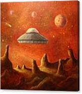 Mysterious Planet Canvas Print