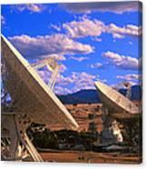 Nasa Deep Space Tracking Station, Australia Canvas Print