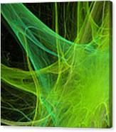Nerve Cell, Computer Artwork Canvas Print