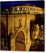 New Bridge In Ronda Canvas Print