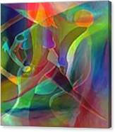 2 of Us Falling Canvas Print