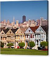Painted Ladies Canvas Print